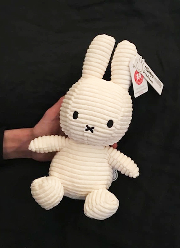 Miffy Corduroy 23cm WHITE
