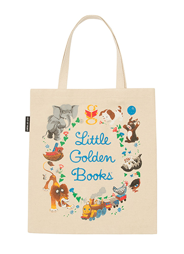 "LITTLE GOLDEN BOOKS - Tote Bag ""リトルゴールデンブックス""トートバッグ"