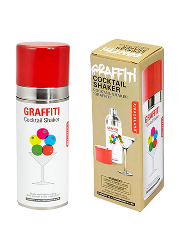 Graffiti Cocktal Shaker