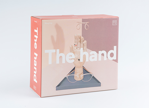 """The Hand """"Black"""" アクセサリースタンド"""