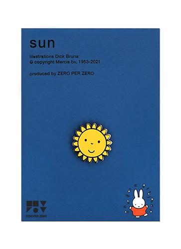 SUN ピンバッジ