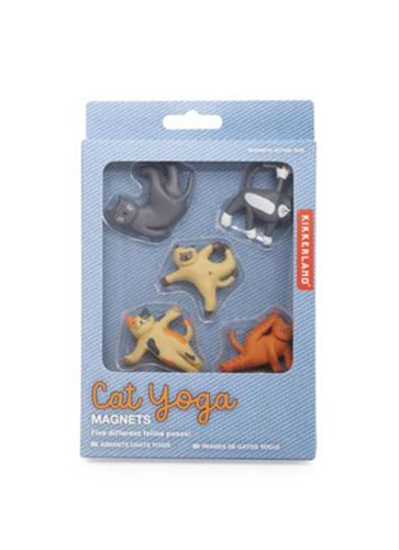 Cat Yoga Magnets キャット ヨガ マグネット