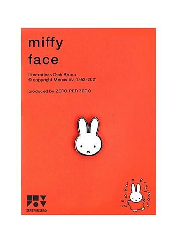 MIFFY FACE ピンバッジ