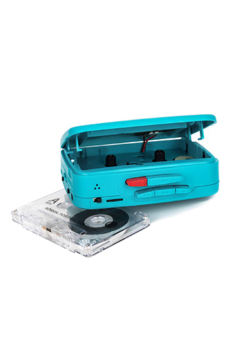Byron Statics Walkman Cassette Player Teal