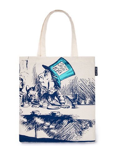 "Alice's Adventures in Wonderland ""不思議の国のアリス""トートバッグ"