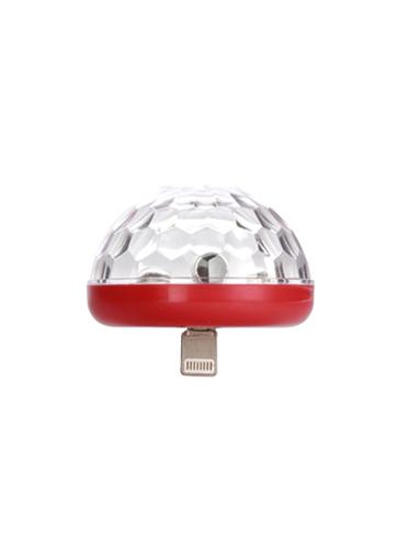 LED Phone Disco Light フォンディスコライト レッド