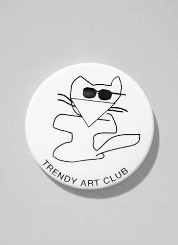 TRENDY ART CLUB BADGE  バッジ