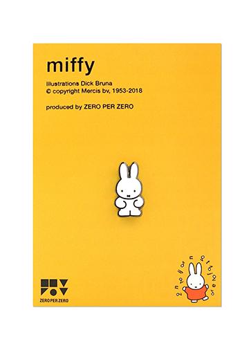 ZPZ miffy ピンバッジ MIFFY
