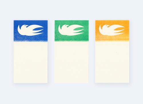 活版印刷 Letter Paper × IKKI KOBAYASHI