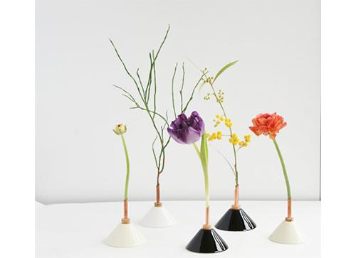 Consilium Vase Yellow 一輪挿し