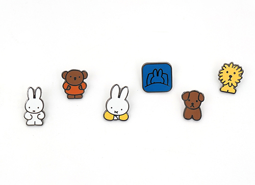 ZPZ miffy ピンバッジ MIFFY THINKING