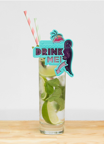 Flashing Drink Topper