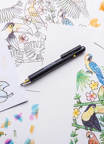 CMYKフルカラースケッチペン