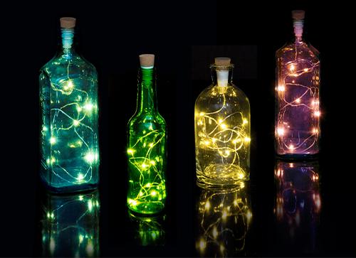 Multicolour Bottle string Light