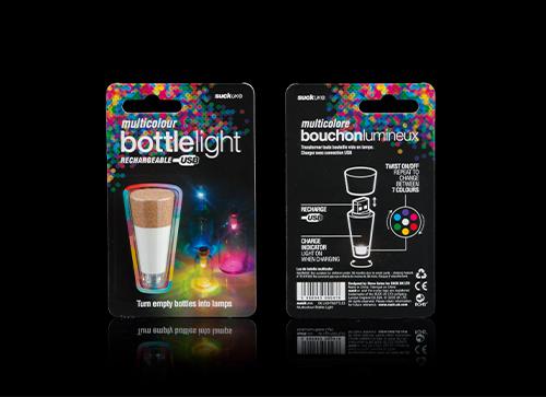 Bottle Light Multicolour