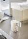 米びつ 密閉 シンク下米びつ 5� タワー 計量カップ付き ホワイト