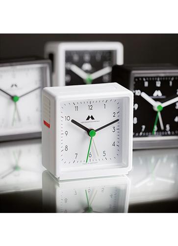 "Uhren Manufaktur Schwarzwald Alarm Clock ""Black / Black"""
