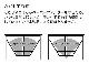 蓋付き コーヒーフィルター/ コーヒーペーパーフィルターケース タワー ブラック