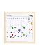 "White Board Calendar ""S"" ホワイトボードカレンダー""S"""