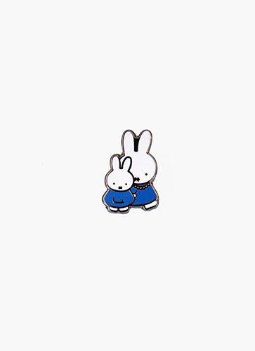 miffy ピンバッジ MIFFY & MOTHER