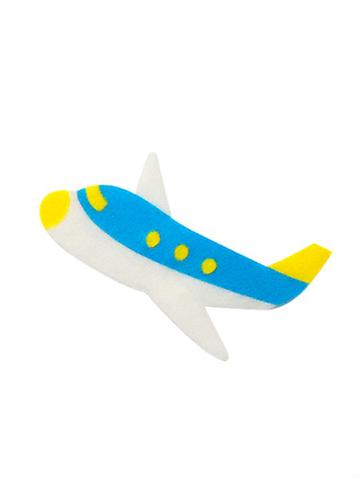 フェルトアップリケ(飛行機)