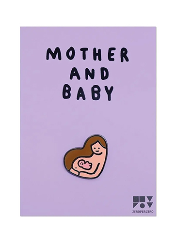 ZPZブローチ MOTHER AND BABY