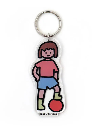 GIRL 3 [M] | Stand Up Keyring