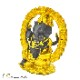インドの神様 ガネーシャの置物 ガネーシャ 置物 ガネーシャ像 夢を叶える象 金運アップ 開運 瞑想 商売繁盛 現世利益 ヒンドゥー教の神様 象の神様 ゾウの神様 ガナパティ 歓喜天 聖天 l18087