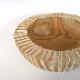 チークの器 ホワイト 白 小物入れ ナチュラル ボーホー サーフ カフェ 西海岸 トレイ チーク材 天然木