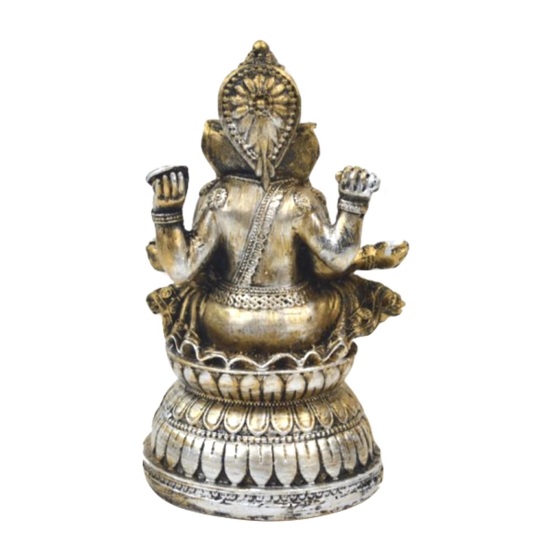 縁起物 インドの神様 ガネーシャの置物 ガネーシャ 置物 ガネーシャ像 夢を叶える象 金運アップ 開運 瞑想 商売繁盛 現世利益 ヒンドゥー教の神様 象の神様 ガナパティ 歓喜天 聖天 J18079