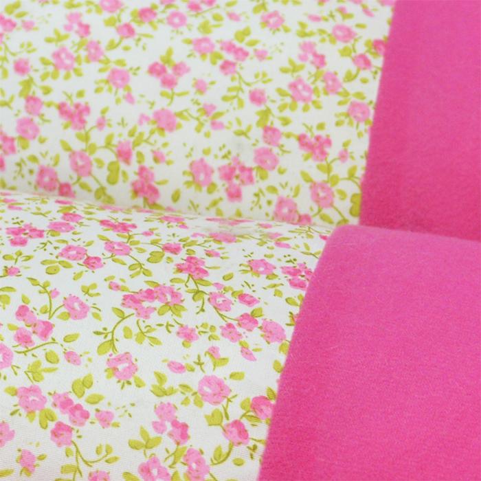 ペット用ベッド Lサイズ 角型 花柄ピンク 青チェック柄 あったか 犬 猫 うさぎ ボア 布 やわらか 安全 クッション 睡眠 室内 3サイズ