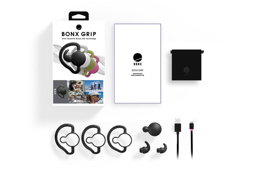 BONX ウェアラブルトランシーバー BONX Grip