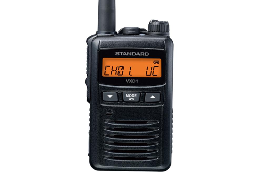 スタンダード 業務用簡易無線 VXD1
