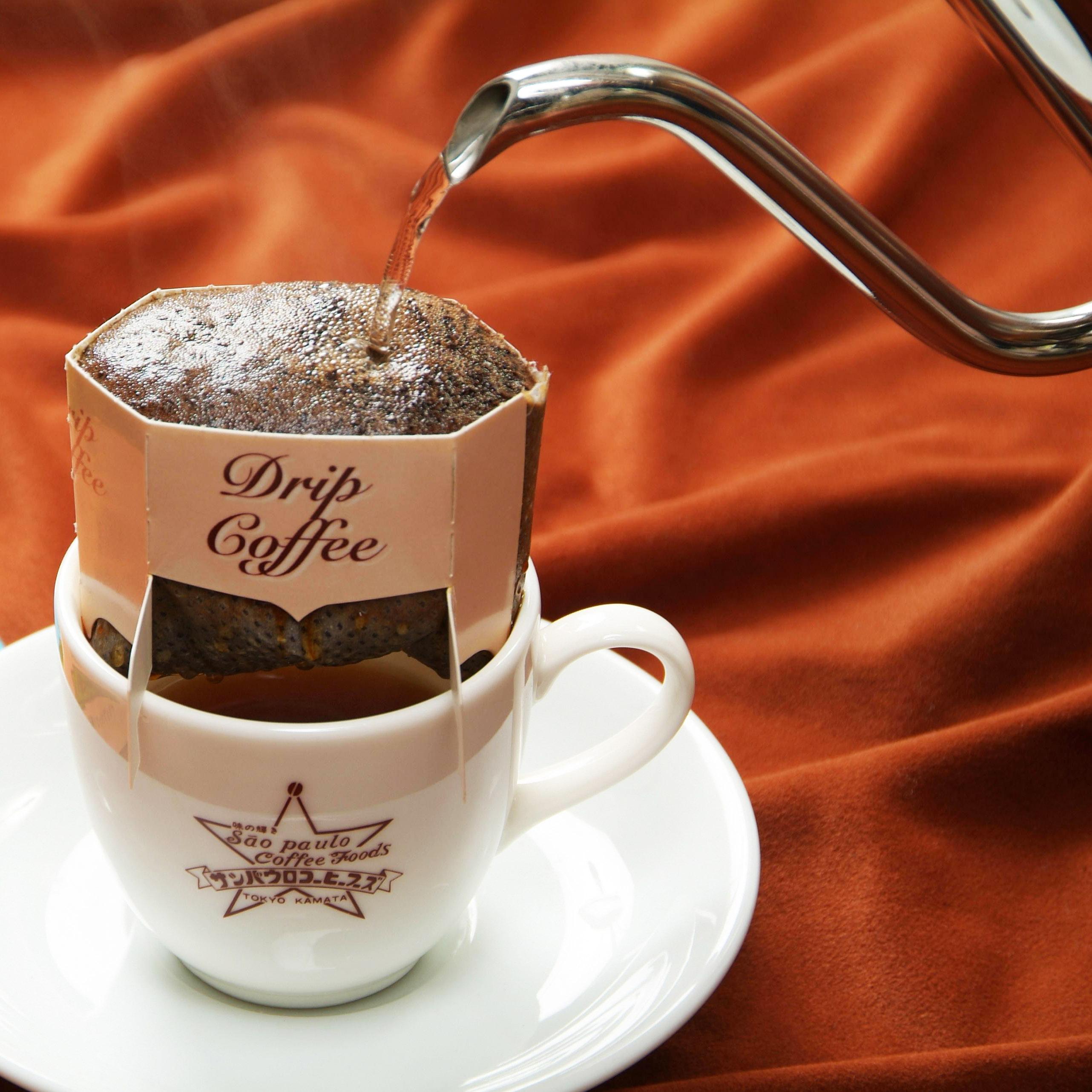 ドリップパックコーヒー カフェインレス デカフェキャット