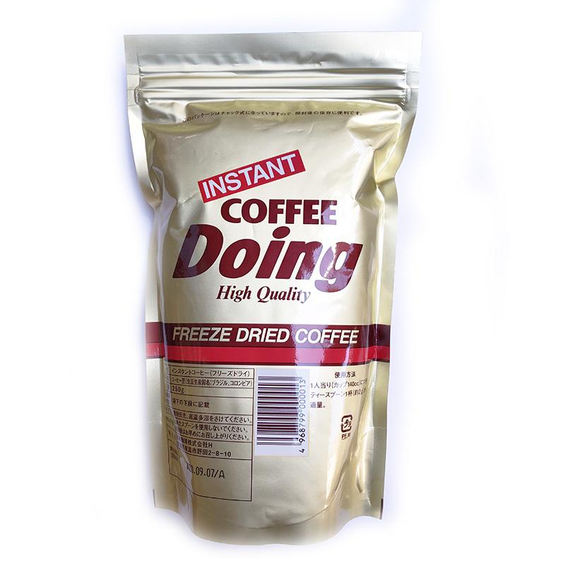 業務用インスタントコーヒー Doing フリーズドライ