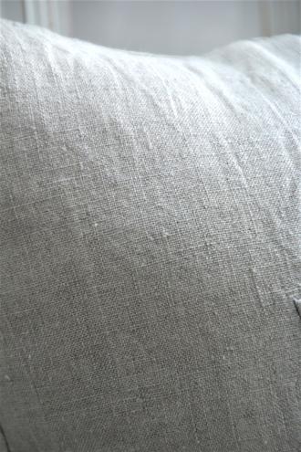 リネンクッションカバーナチュラル45x45cm