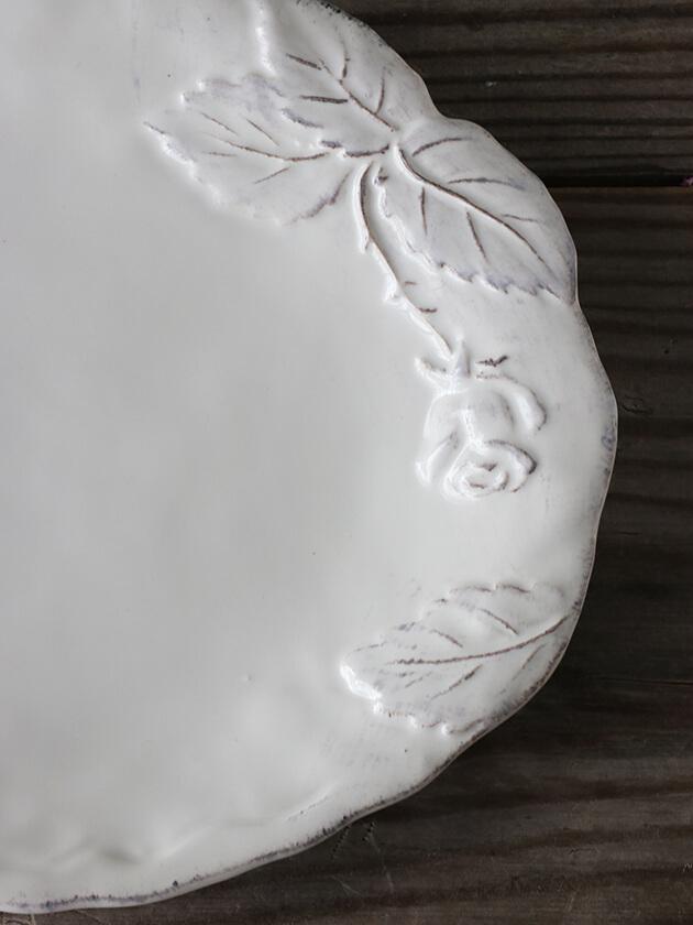 Virginia Casa ROMANTICAデザートプレート ホワイト