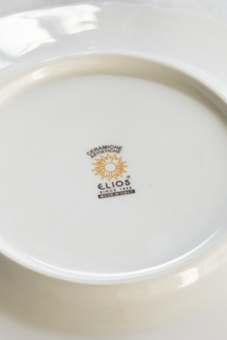 ELIOS FINEZZAデザートプレート23cmクリーム