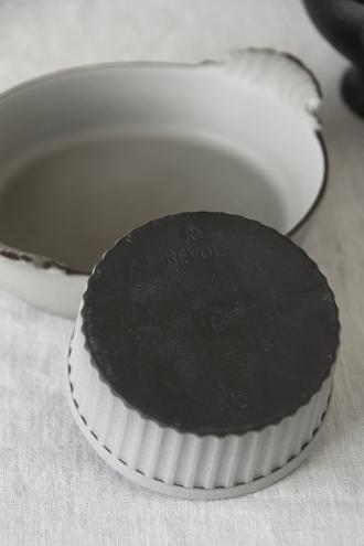 REVOLココットグレー9cm