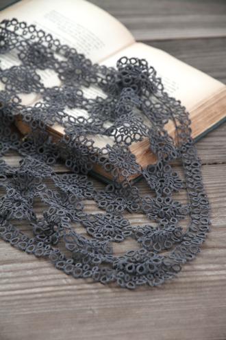 アンティークレース編み ランナー