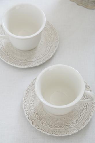 ELIOS FINEZZAカップ&ソーサークリーム