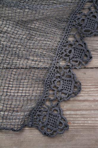 アンティークレース編み テーブルセンター