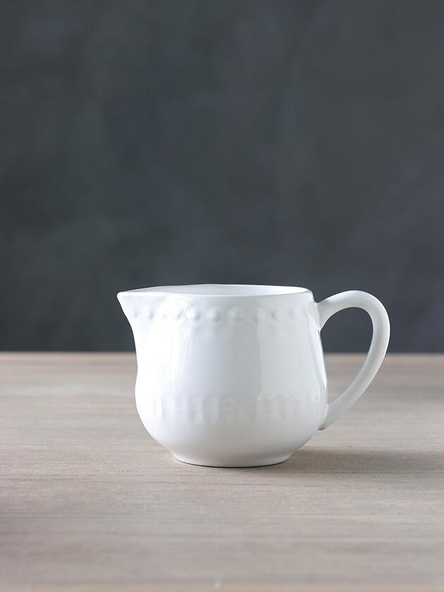 PotteryJoミルクジャグDAISYホワイト