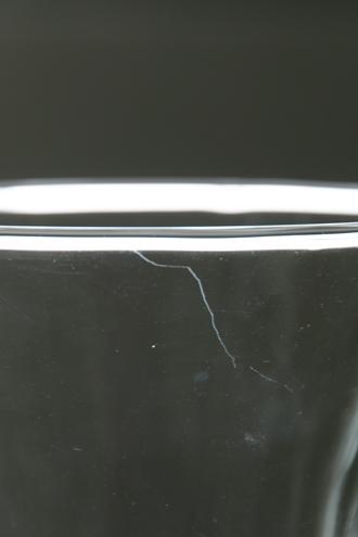 クリアガラスベース26.5cm