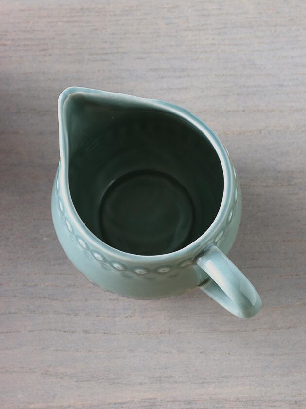 PotteryJoミルクジャグDAISYダスティグリーン