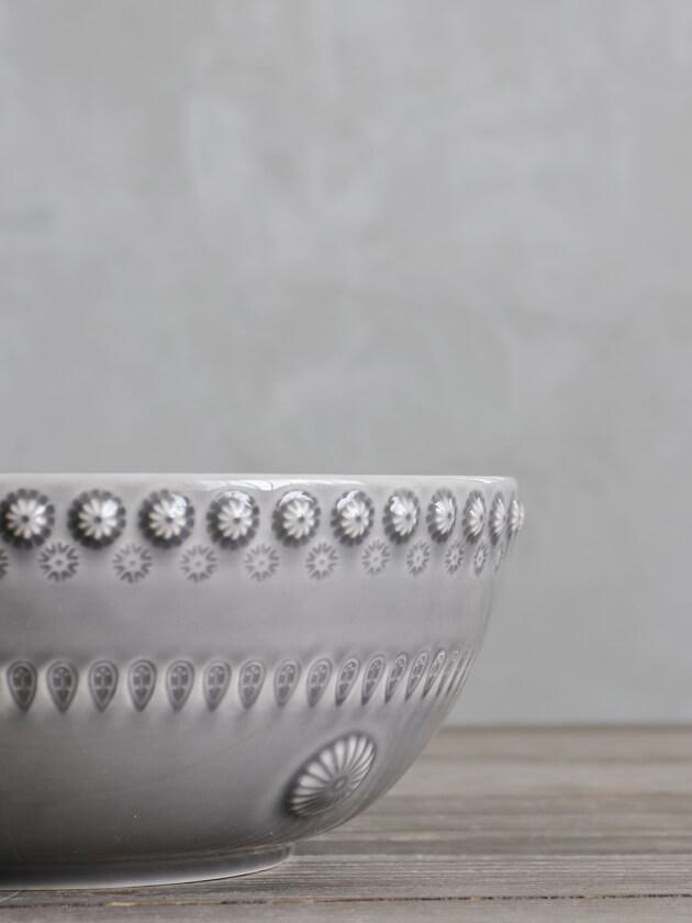 PotteryJoサラダボウルDAISYグレー