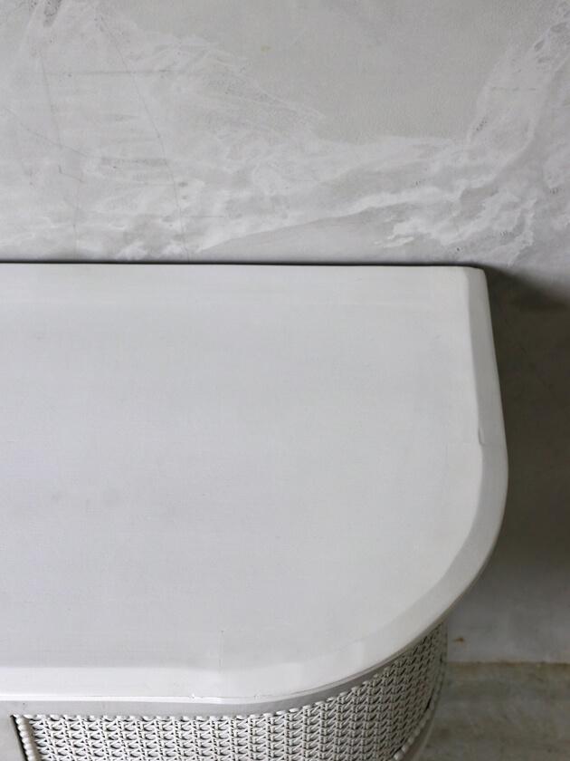BlancNatureサイドボード ホワイト&グレー
