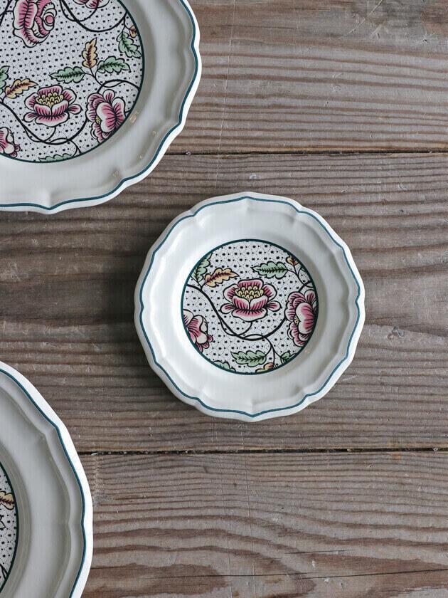 Gienパン皿Antoinette Poisson Dominote