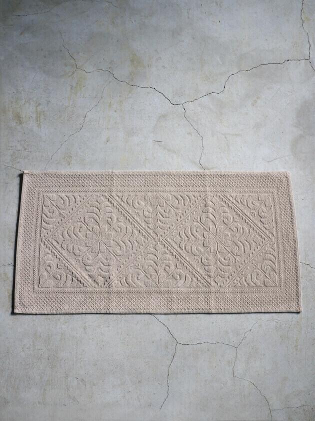 VIVARAISEフロアマットENZOベージュ54x110cm