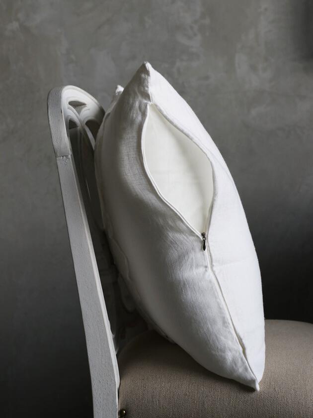 Chez moiクッションカバーPiccola Veneziaホワイト50x50cm